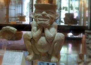 Statua buffa al museo archeologico di Agrigento