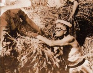 Mussolini, e la battaglia del grano