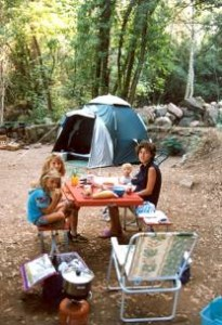 A noi piace andare in campeggio