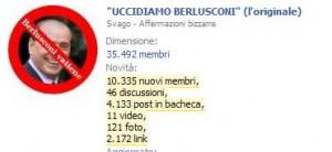 Uccidiamo Berlusconi su Facebook