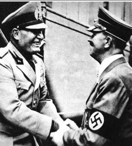 Hitler e Mussollini