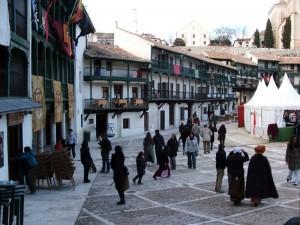 La piazza di Chinchon
