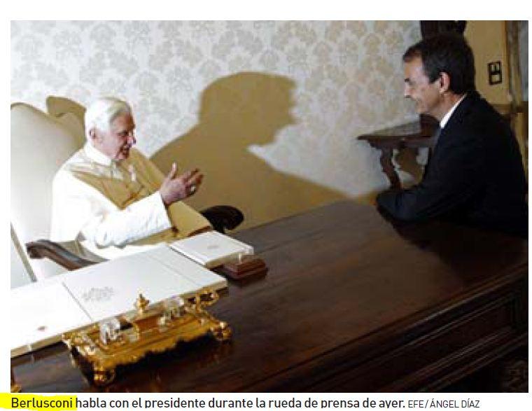 Berlusconi è diventato papa