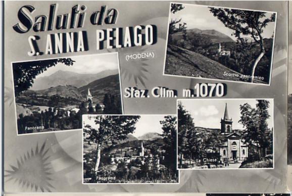 Cartolina S. Anna Pelago (MO)  1959
