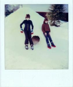 Igloo Belluno Nevicata 1985