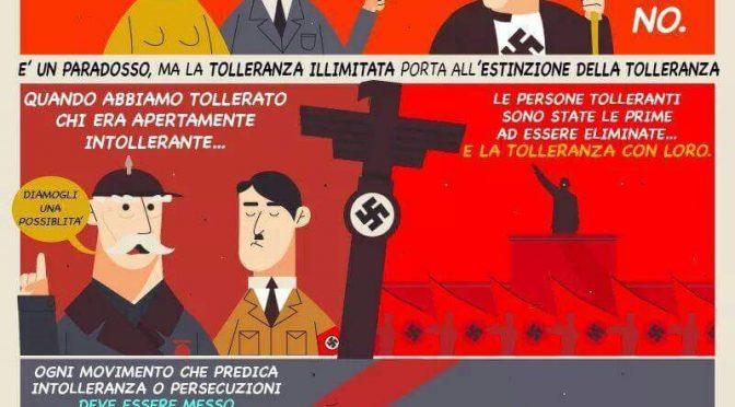 Il paradosso della Tolleranza - fumetto