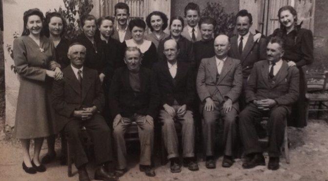 Maria Sonego e altri parenti